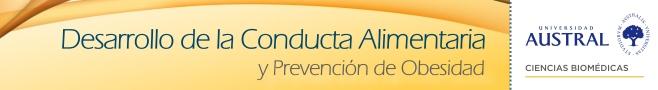 Desarrollo de la Conducta Alimentaria y Prevención de Obesidad