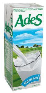 leche de soya ades sin azucar informacion nutricional