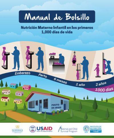 Manual del Bolsillo. Nutrición materno infantil en los primeros 1000 días de vida