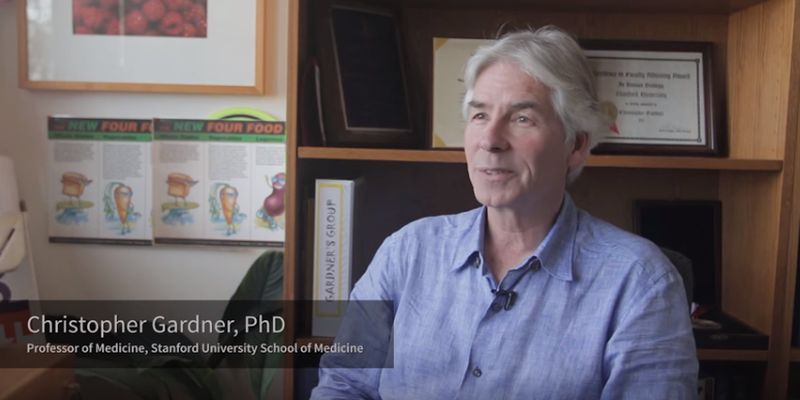 Stanford's Christopher Gardner Tackles the Low-Carb vs. Low-Fat Question