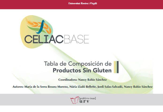 CELIACBASE Tabla de Composición de Productos sin Gluten