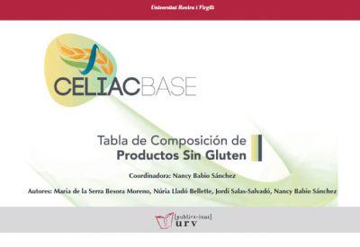 CELIACBASE Tabla de Composición de Productos sin Gluten (España)