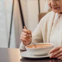 Alimentos con textura adaptada para personas con disfagia