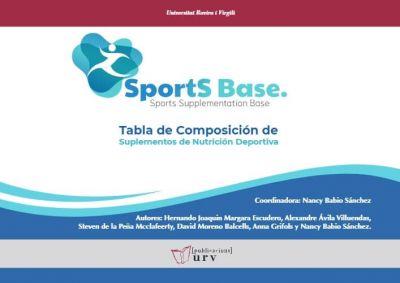 Sports Base: Tabla de composición de suplementos de nutrición deportiva