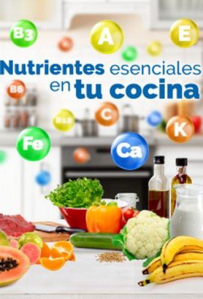 Folleto: Nutrientes esenciales en tu cocina