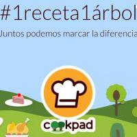 Cookpad lanzó una campaña para reforestar con el nombre #1receta1arbol