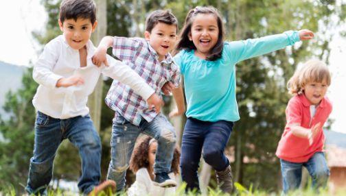El entrenamiento corto e intenso es bueno para los niños