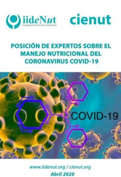 Posición de expertos sobre el manejo nutricional del coronavirus COVID-19