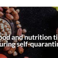 La OMS elabora una guía de consejos para la adecuada alimentación en cuarentena