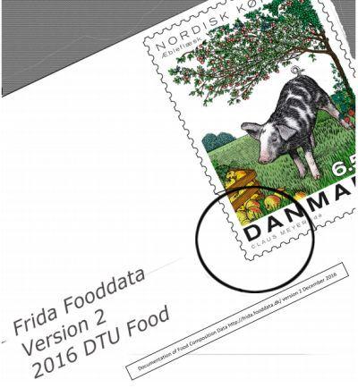 Composición química de alimentos de la Universidad Técnica de Dinamarca: Frida Food Data