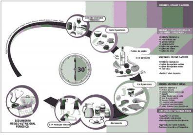 Grafica alimentaria para la población bariátrica