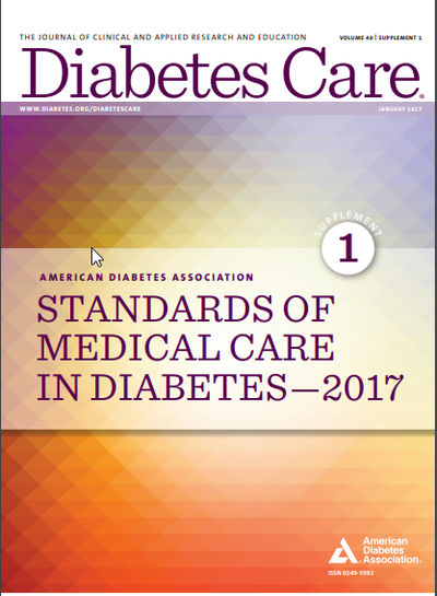 Standards of Medical Care in Diabetes-2017