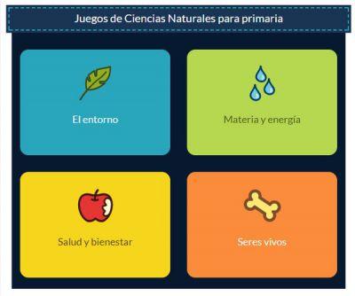 Juegos online sobre alimentos y alimentación para niños de primaria