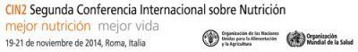 CIN2 Segunda Conferencia Internacional sobre Nutrición
