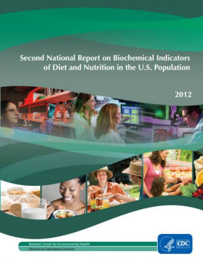 Second National Report on Biochemical Indicators of Diet and Nutrition in the U.S. Population