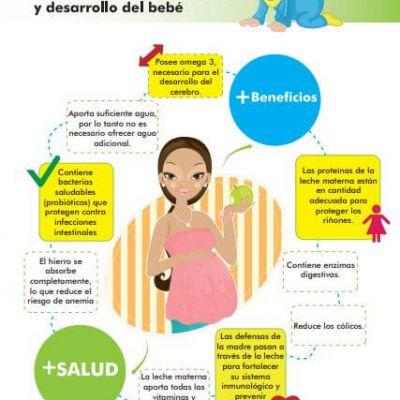 Infografía: Beneficios de la lactancia materna