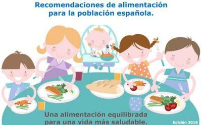 Recomendaciones de alimentación para la población española