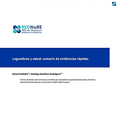 Legumbres y salud: sumario de evidencias rápidas